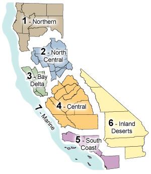 California department of fish and wildlife central for Ca dept of fish and wildlife