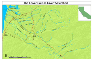 TMDL for Nutrients in Lower Salinas River Watershed Monterey